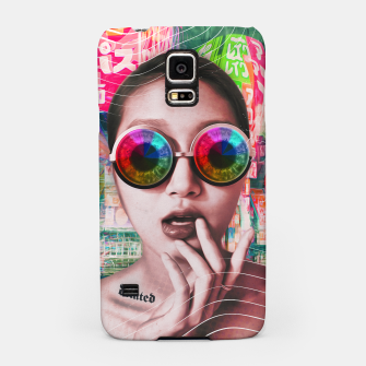 Thumbnail image of pink tokyo lady Samsung Case, Live Heroes