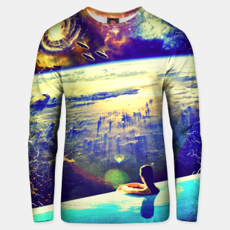 Thumbnail image of spacedive Unisex sweater, Live Heroes
