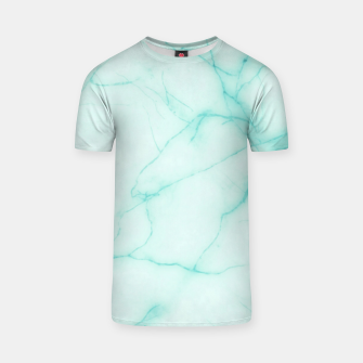 Thumbnail image of Turquoise marble T-shirt, Live Heroes