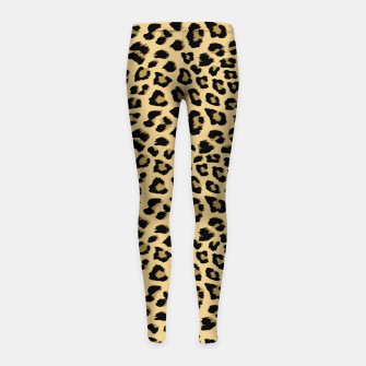 Thumbnail image of Cute Leopard Animal Print Pattern Girl's leggings, Live Heroes