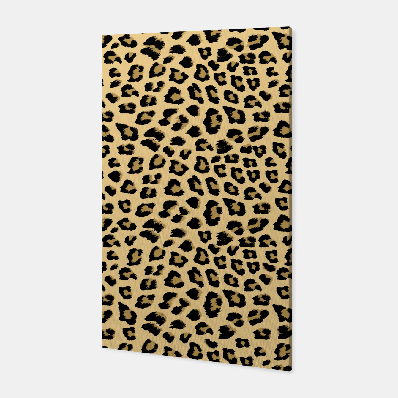 Image of Cute Leopard Animal Print Pattern Canvas - Live Heroes
