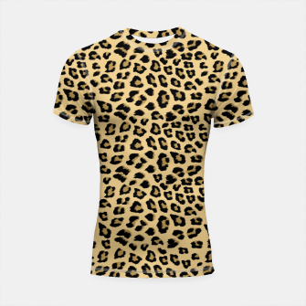 Thumbnail image of Cute Leopard Animal Print Pattern Shortsleeve rashguard, Live Heroes