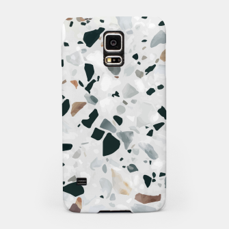 Miniatur Modern Abstract Terrazzo Pattern Samsung Case, Live Heroes