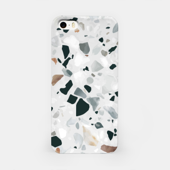 Miniatur Modern Abstract Terrazzo Pattern iPhone Case, Live Heroes