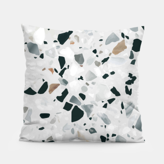 Miniatur Modern Abstract Terrazzo Pattern Pillow, Live Heroes