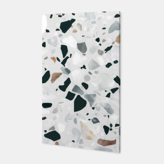 Miniatur Modern Abstract Terrazzo Pattern Canvas, Live Heroes