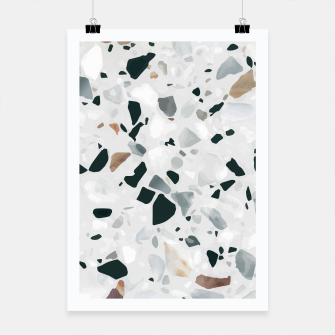 Miniatur Modern Abstract Terrazzo Pattern Poster, Live Heroes