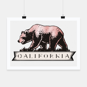 Thumbnail image of California Poster, Live Heroes