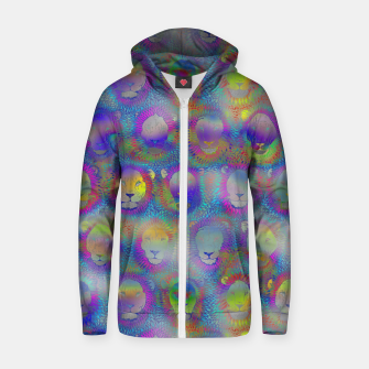 Thumbnail image of Camelot - Psychedelic Lions Zip up hoodie, Live Heroes