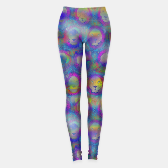 Thumbnail image of Camelot - Psychedelic Lions Leggings, Live Heroes