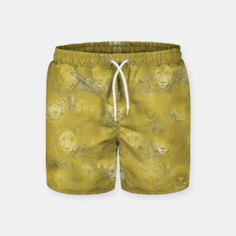 Thumbnail image of Camelot - Gilded Lions Swim Shorts, Live Heroes
