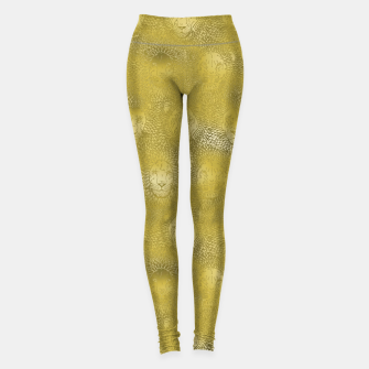 Thumbnail image of Camelot - Gilded Lions Leggings, Live Heroes