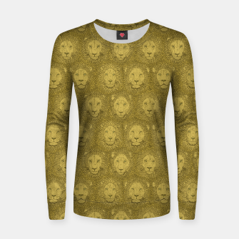 Thumbnail image of Camelot - Golden Khaki Lions Women sweater, Live Heroes
