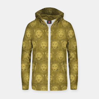 Thumbnail image of Camelot - Golden Khaki Lions Zip up hoodie, Live Heroes