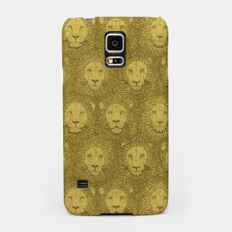 Thumbnail image of Camelot - Golden Khaki Lions Samsung Case, Live Heroes