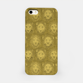 Thumbnail image of Camelot - Golden Khaki Lions iPhone Case, Live Heroes