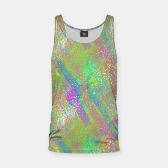 Miniaturka Cool Colours Texture Tank Top, Live Heroes