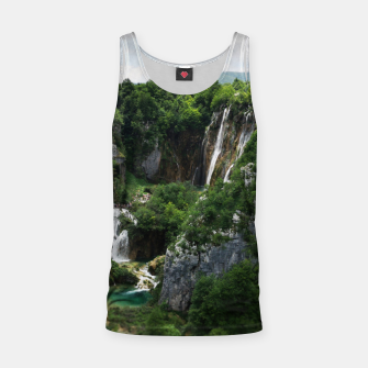 veliki slap waterfall 1 plitvice lakes national park croatia bokeh Tank Top thumbnail image