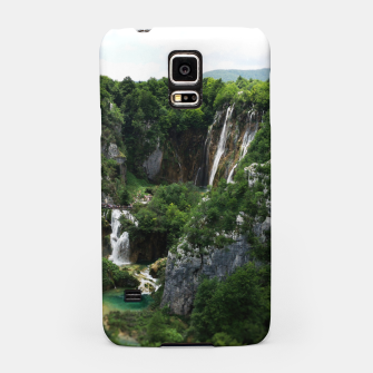 veliki slap waterfall 1 plitvice lakes national park croatia bokeh Samsung Case thumbnail image