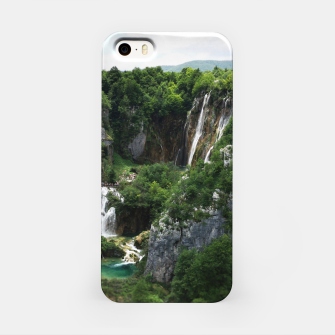 veliki slap waterfall 1 plitvice lakes national park croatia bokeh iPhone Case thumbnail image