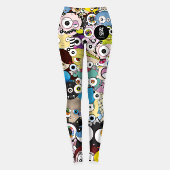 Thumbnail image of Leggins family Leggings, Live Heroes