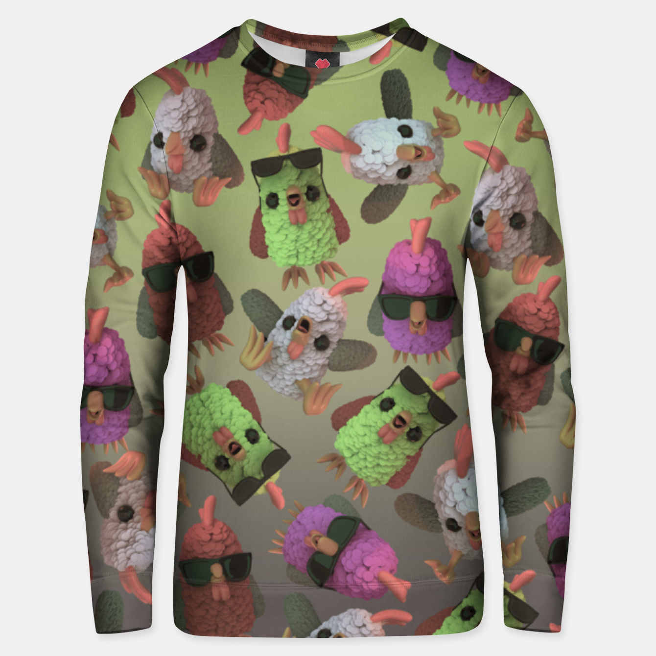 Image of Chicken Gang Unisex sweater - Live Heroes