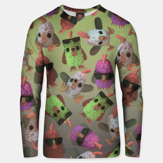 Thumbnail image of Chicken Gang Unisex sweater, Live Heroes