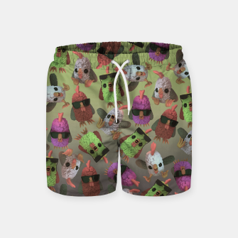 Chicken Gang Swim Shorts thumbnail image