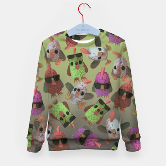 Chicken Gang Kid's sweater thumbnail image
