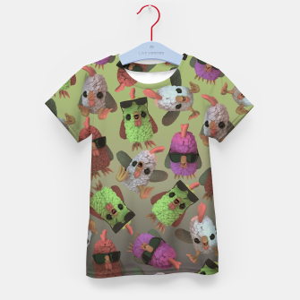 Chicken Gang Kid's t-shirt thumbnail image