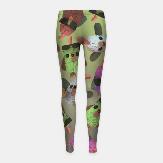 Chicken Gang Girl's leggings thumbnail image