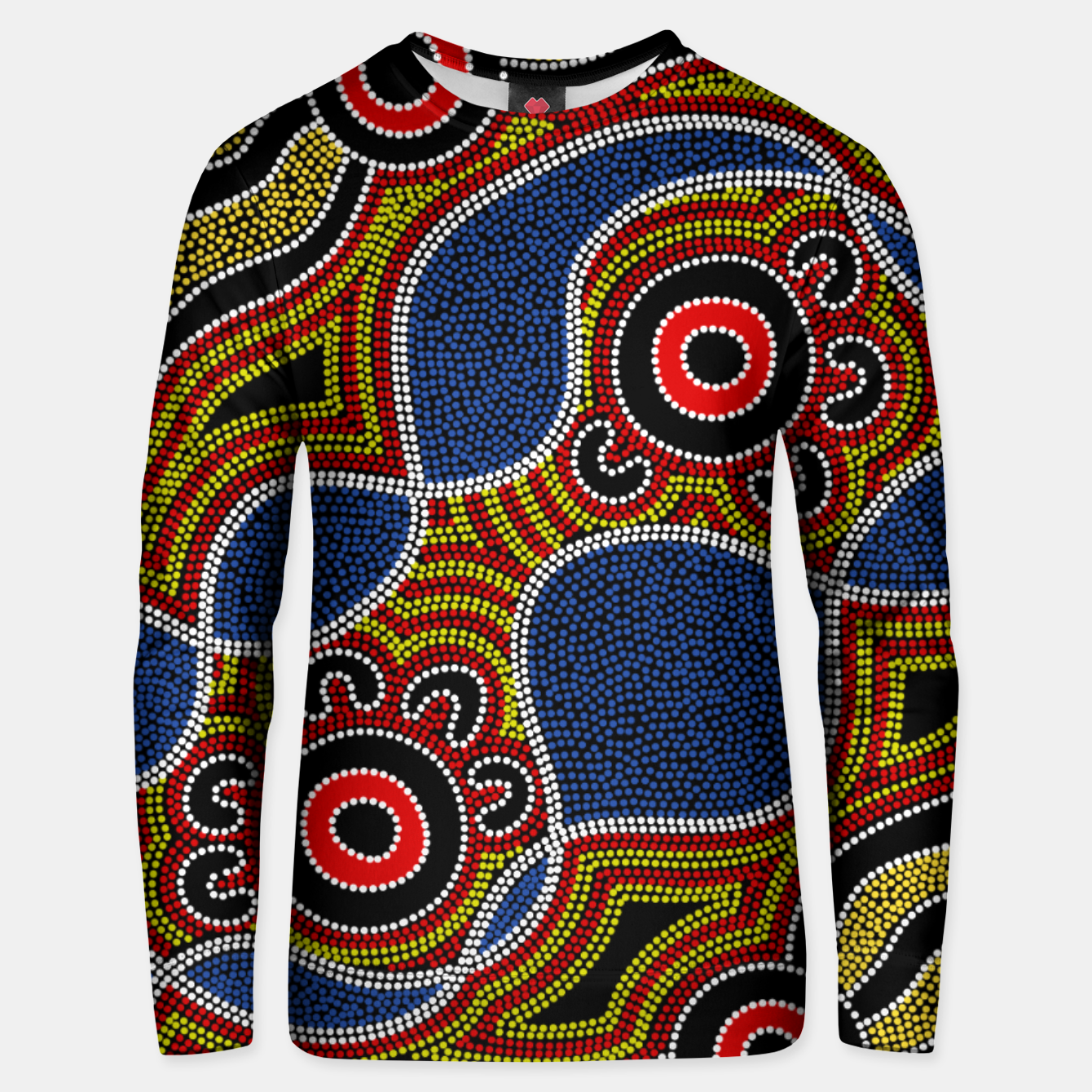 Image of Dots - Authentic Aboriginal Art Unisex sweater - Live Heroes