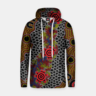 Gathering - Authentic Aboriginal Art Hoodie thumbnail image
