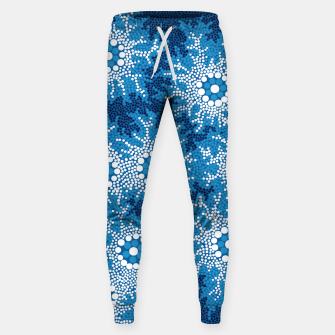 Wetland Dreaming - Authentic Aboriginal Art Sweatpants thumbnail image