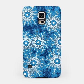 Wetland Dreaming - Authentic Aboriginal Art Samsung Case thumbnail image
