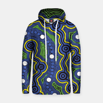Meeting Places - Authentic Aboriginal Art Hoodie thumbnail image