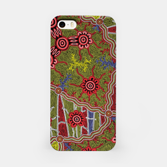 Thumbnail image of Connections - Authentic Aboriginal Art iPhone Case, Live Heroes