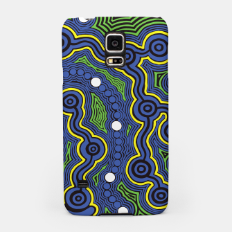 Meeting Places - Authentic Aboriginal Art Samsung Case thumbnail image