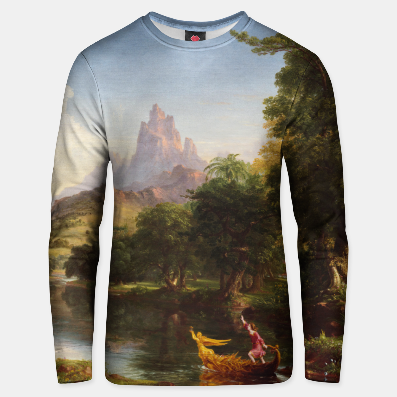 Image of The Voyage Of Life - Youth by Thomas Cole Unisex sweater - Live Heroes