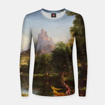 Miniaturka The Voyage Of Life - Youth by Thomas Cole Women sweater, Live Heroes