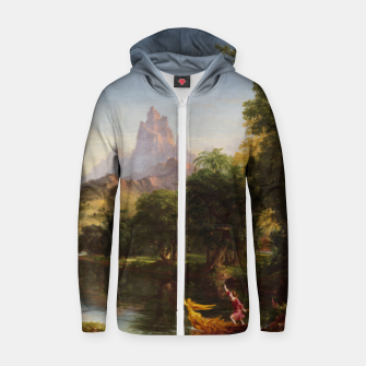Miniaturka The Voyage Of Life - Youth by Thomas Cole Zip up hoodie, Live Heroes