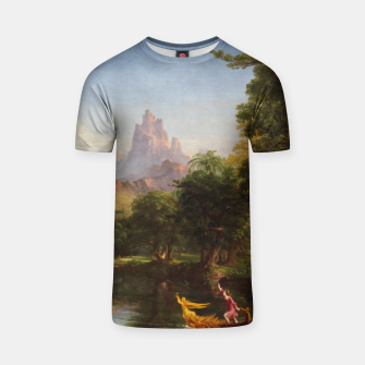 Miniaturka The Voyage Of Life - Youth by Thomas Cole T-shirt, Live Heroes