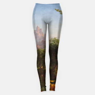 Miniaturka The Voyage Of Life - Youth by Thomas Cole Leggings, Live Heroes