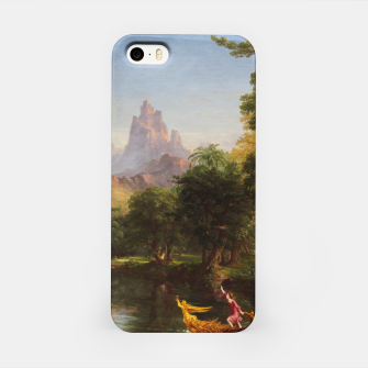 Miniaturka The Voyage Of Life - Youth by Thomas Cole iPhone Case, Live Heroes
