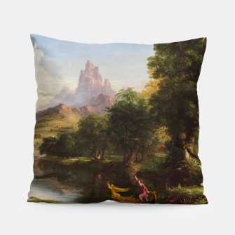 Miniaturka The Voyage Of Life - Youth by Thomas Cole Pillow, Live Heroes