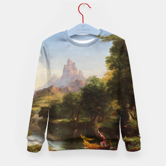 Miniaturka The Voyage Of Life - Youth by Thomas Cole Kid's sweater, Live Heroes