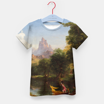 Miniaturka The Voyage Of Life - Youth by Thomas Cole Kid's t-shirt, Live Heroes