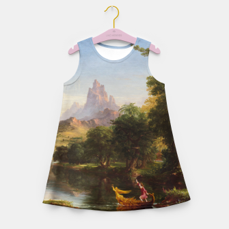 Miniaturka The Voyage Of Life - Youth by Thomas Cole Girl's summer dress, Live Heroes
