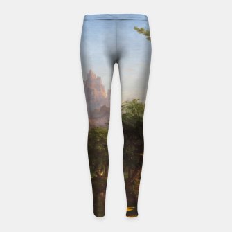 Miniaturka The Voyage Of Life - Youth by Thomas Cole Girl's leggings, Live Heroes