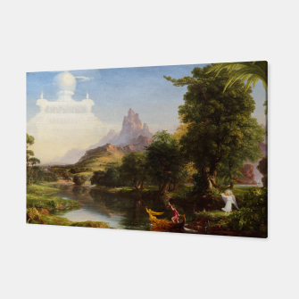 Miniaturka The Voyage Of Life - Youth by Thomas Cole Canvas, Live Heroes